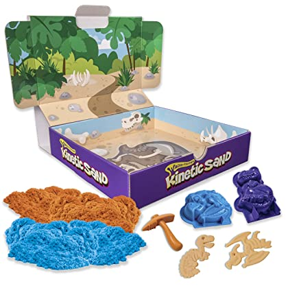 Kinetic Sand Dino Dig Playset