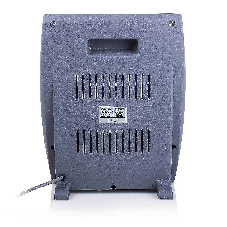 Tristar KA-5011 Calefactor eléctrico, Cuarzo, 2 ajustes de calor (400 W y 800 W), Asa en la parte posterior