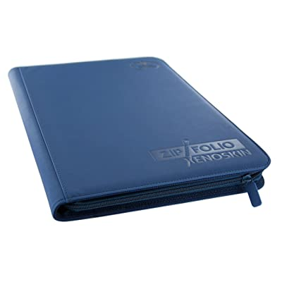 Ultimate Guard 9 Pocket XenoSkin Zipfolio, Blue: Toys & Games [5Bkhe0306419]