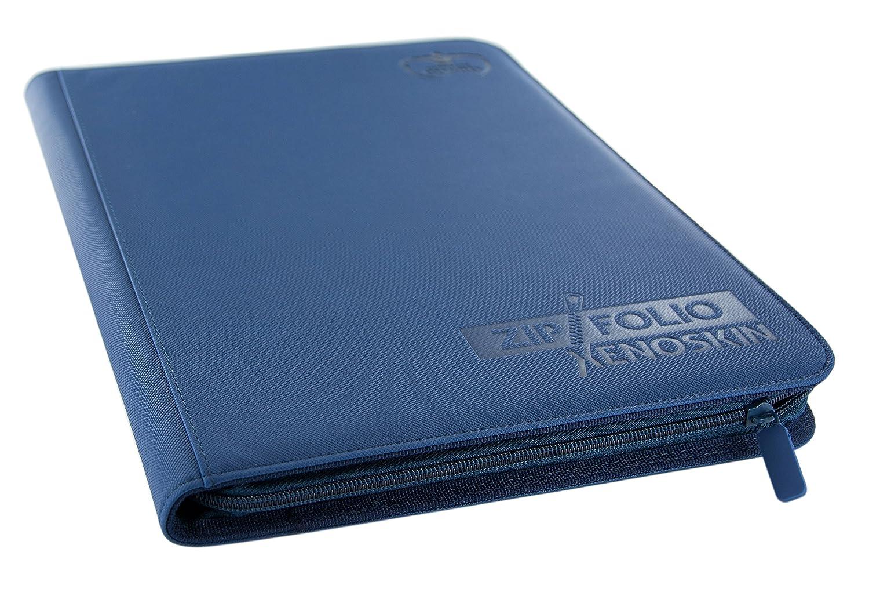 Ultimate Guard 9-pocket Xenoskin Zipfolio Album (Bleu) UGD010211
