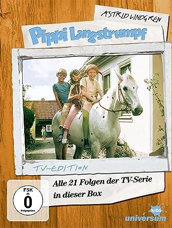 Astrid Lindgren Pippi Langstrumpf Alle 21 Folgen Der Tv
