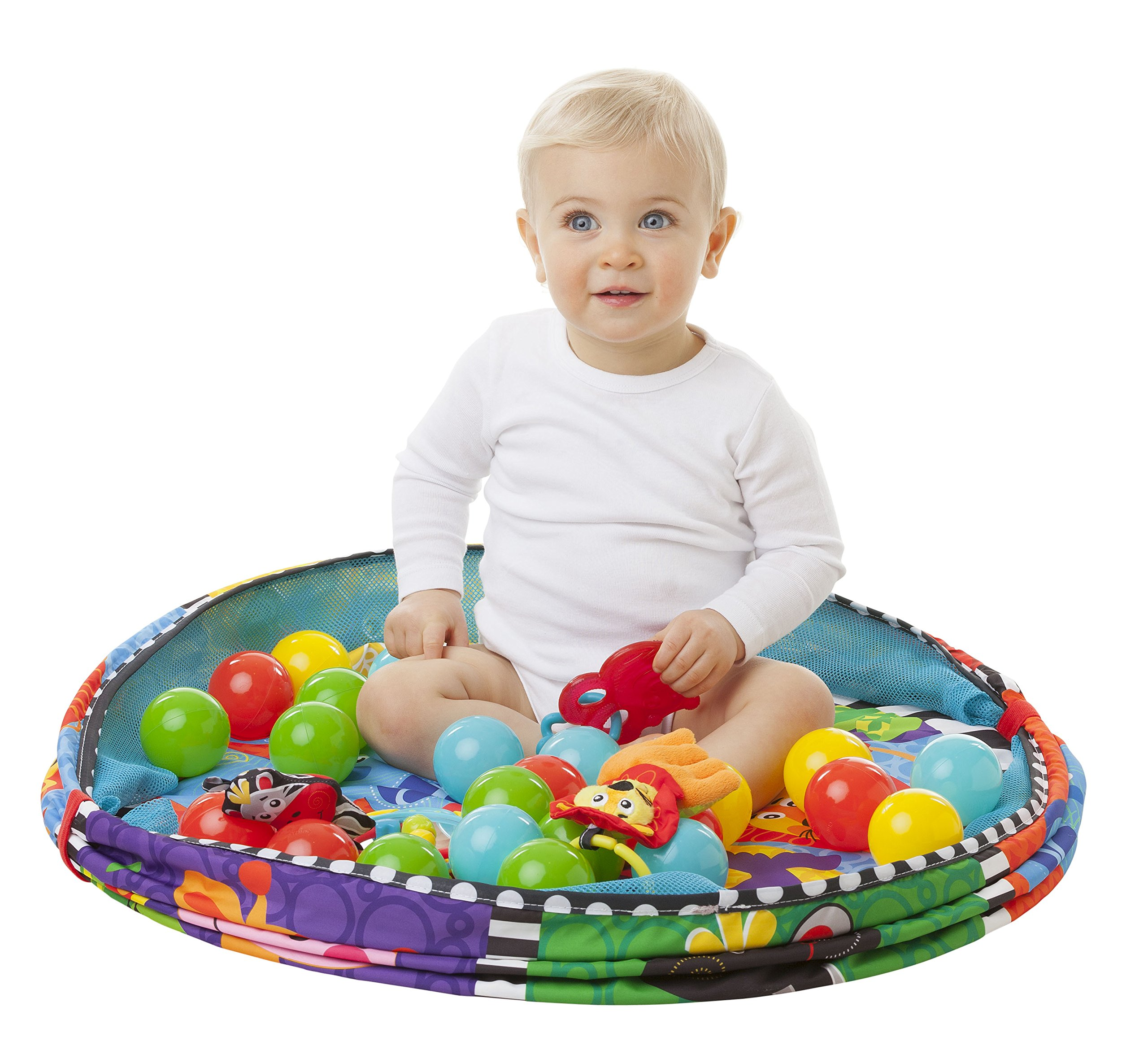 Playgro Ball Activity Nest Gym for baby infant toddler child with Bestway Up, In and Over Splash and Play 100 Play Balls