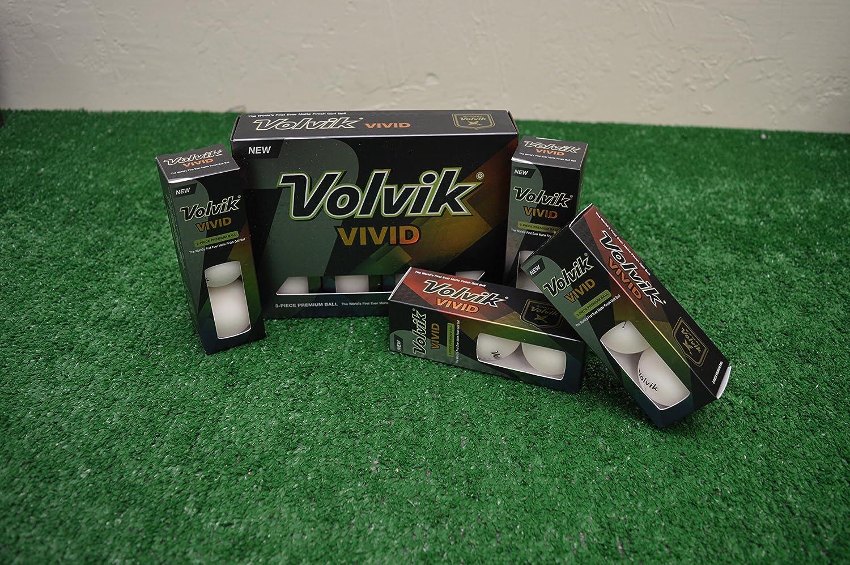 新しいスタイル 3ダースVolvik 3ダースVolvik 新しいinボックス – Vividマットホワイトゴルフボール – 新しいinボックス B06VW5DPLL, 西川チェーン布団Shop 【四十坊】:46d6bcdc --- 4x4.lt