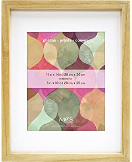 mcs art frame 11 by 14 inch frame with 8 by 10 inch