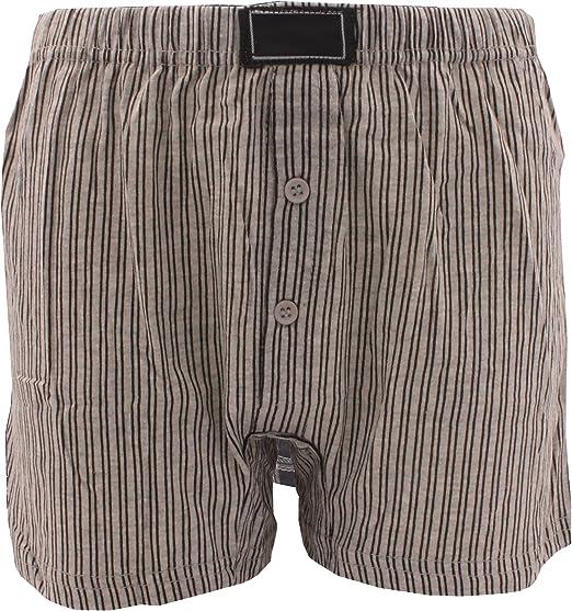 3 x Boy Kid Children Natural Cotton Rich Boxer Short Jersey Button Fly Underwear