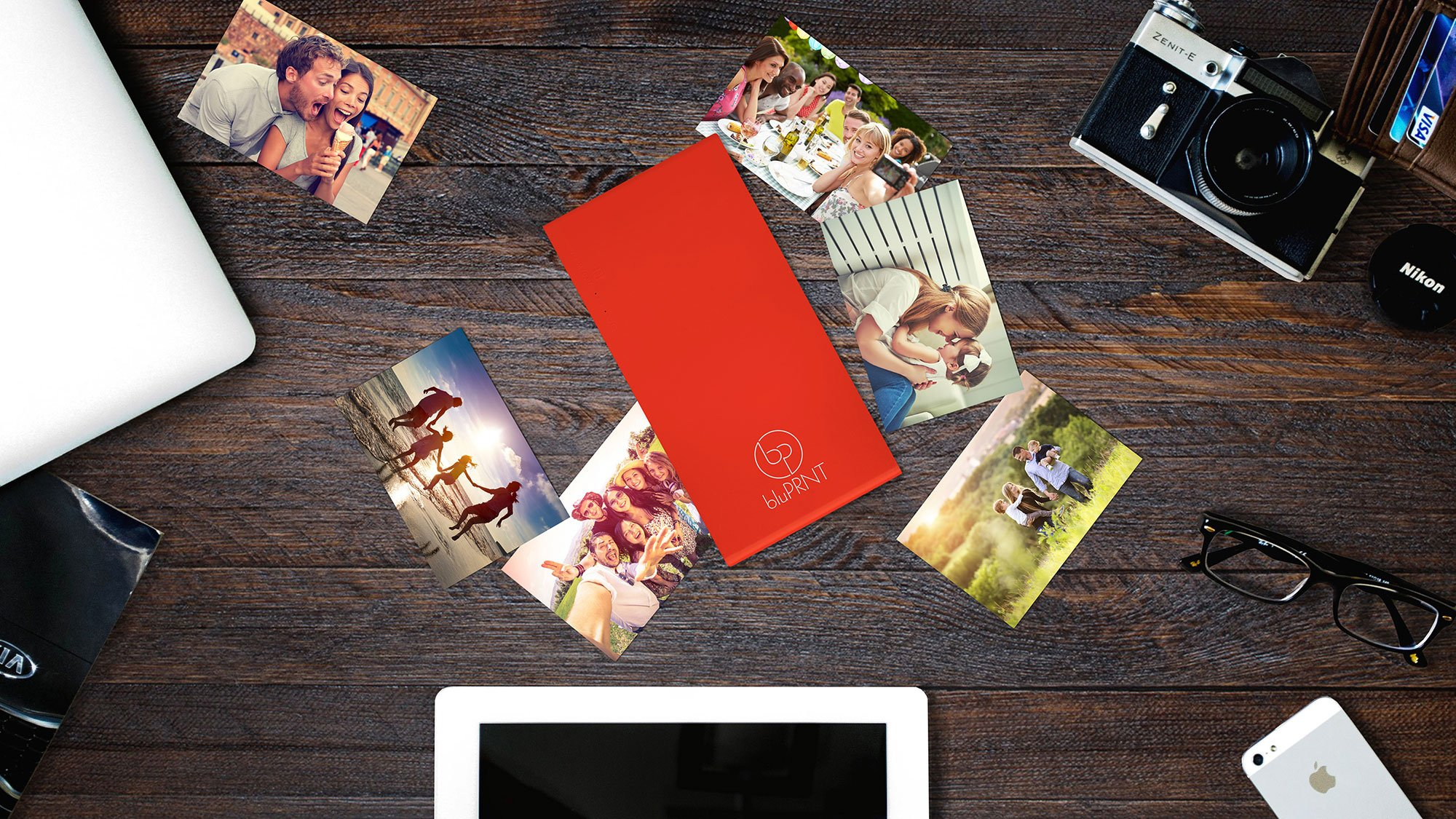 bluPRNT Instant Portable Printer for Smartphone Social Media Photos With WiFi & NFC, Compatible With only Android - Red by BluPrnt (Image #4)