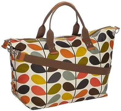 Orla Kiely Women s Nautical Stem Weekend Shoulder Bag Multi 13SENMS132 4697d86eb69c0