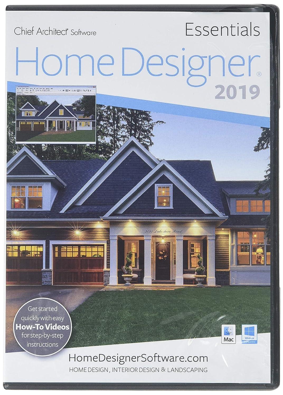 Amazon com chief architect home designer essentials 2019 software