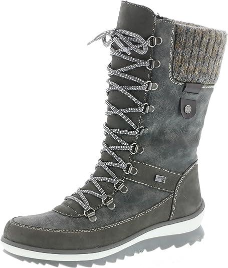 Rieker Damen Winterstiefel Y4331,Frauen Winter Boots,warm