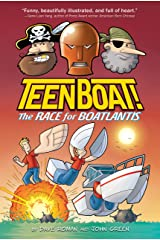 Teen Boat! The Race for Boatlantis Kindle Edition