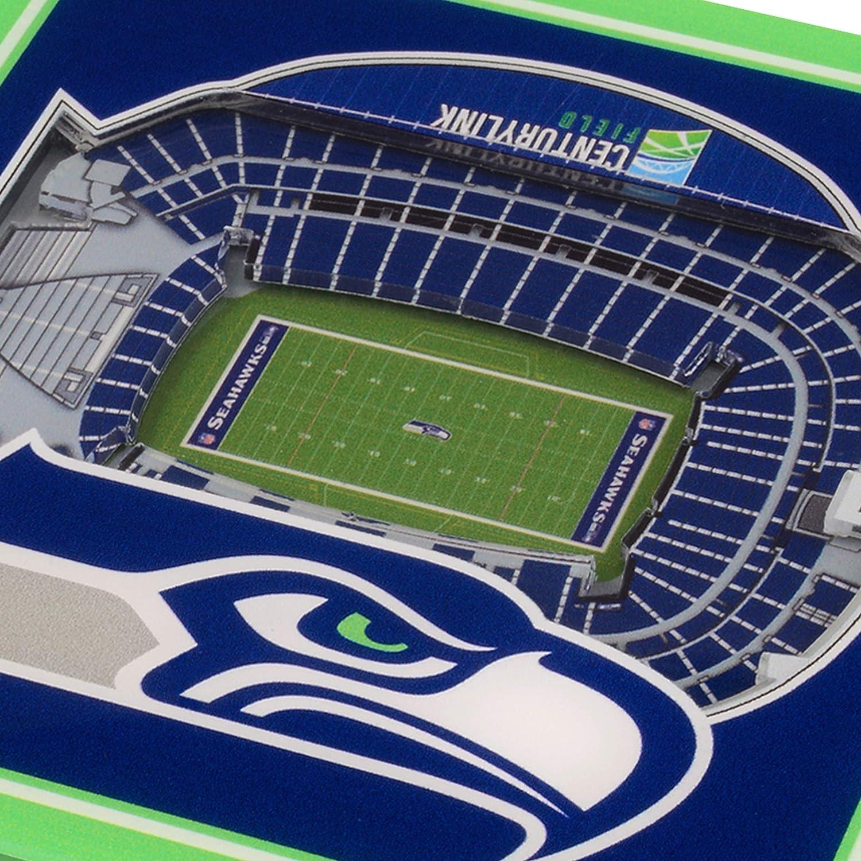 NFL 3D StadiumViews Coasters