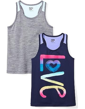 eb45fda7ed69d Girl's Athletic Shirts Tees   Amazon.com