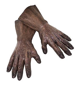 Amazon Com Star Wars Rubie S Men S Adult Chewbacca Latex Hands