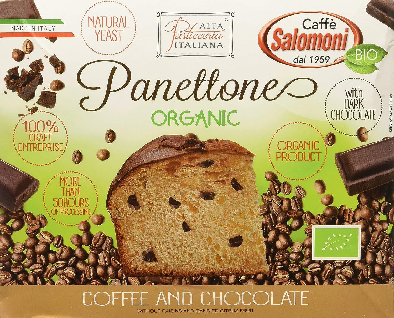Panettone de café y chocolate - 500 gr.: Amazon.es: Alimentación y bebidas