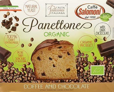 Panettone de café y chocolate - 500 gr.