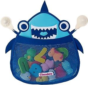 CHERABOO Blue Bath Toy Organizer, Bath Toy Storage, Bathtub Toy Organizer, Bath Toy Holder, Bath Toys Organizer, Bath Tub Toy Holder, Bath Toy Net, Shower Toy Holder, Bathroom Toy Storage