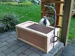 Brooder Box (Tamaño: 16x35x6)