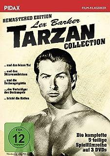 Tarzan Collection 3 Dvds Amazon De Johnny Weissmüller