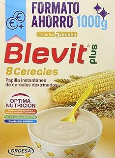 Blevit Plus 8 Cereales con Miel - Paquete de 2 x 500 gr ...