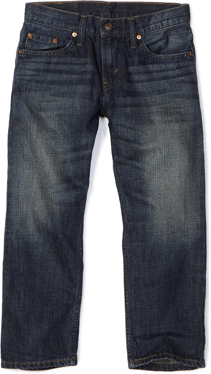 Levi's Boys' 505 Regular Fit Jeans: Clothing