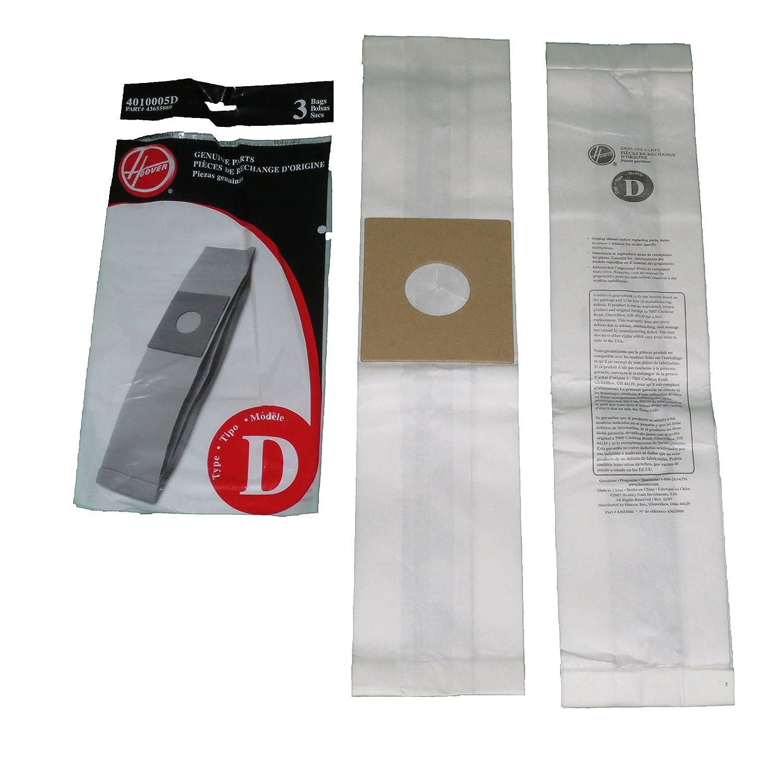 Hoover Genuine Type D Upright Vacuum Cleaner Bags: