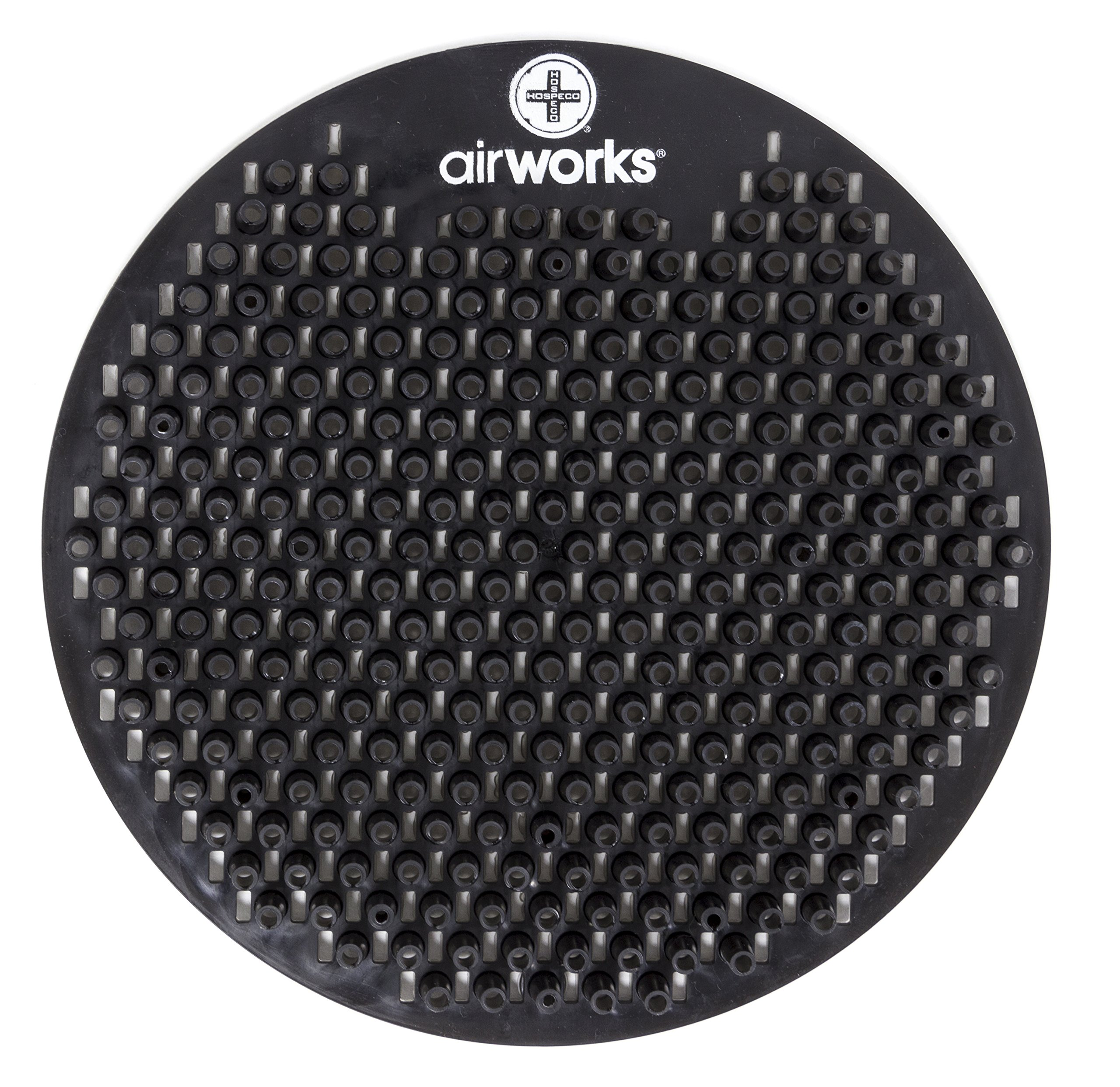 AirWorks AWSFUS235-BX Splash Free Urinal Screen, Midnight Sky, 0.22 lb, 8'' Height, 6'' Width, Black (Pack of 10)