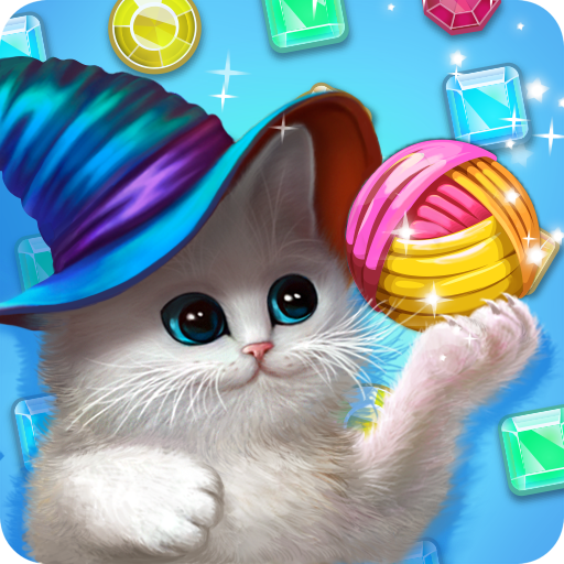 Jewel Magic - Cute Cats: Magic Adventure
