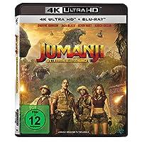 Jumanji: Willkommen im Dschungel (inkl. Blu-ray) [4K Blu-ray]