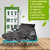 Highloni Lawn Aerator Shoes Heavy Duty Manual