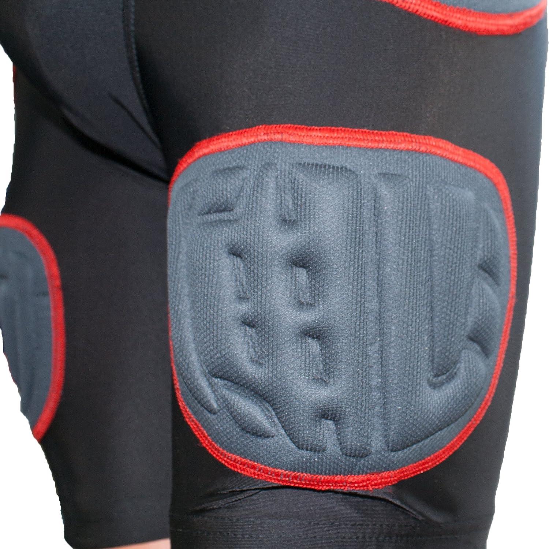 Full Force American Football 5 Pocket Pad Pantalon anti-choc Noir