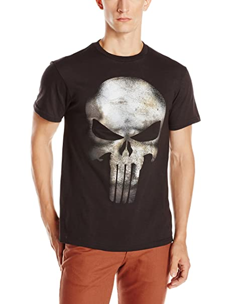 7a29de094d9d Marvel The Punisher Men's No Sweat T-Shirt: Amazon.ca: Clothing ...
