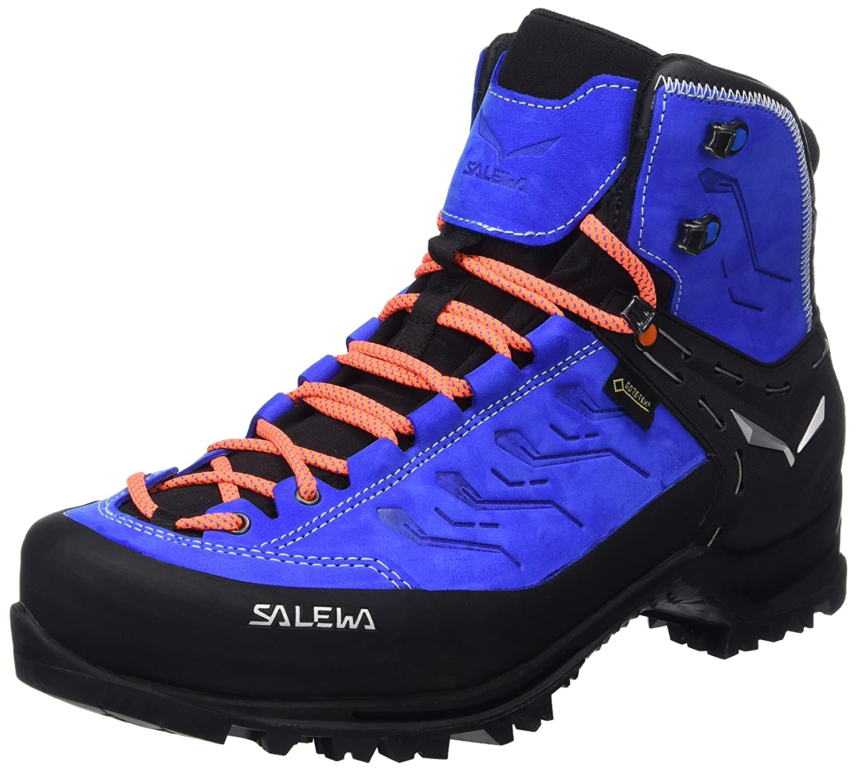 Bleu (Royal bleu   Papavero 8596) 45 EU Salewa Rapace Gore-tex Bergschuh, Chaussures de Trekking et randonnée Homme