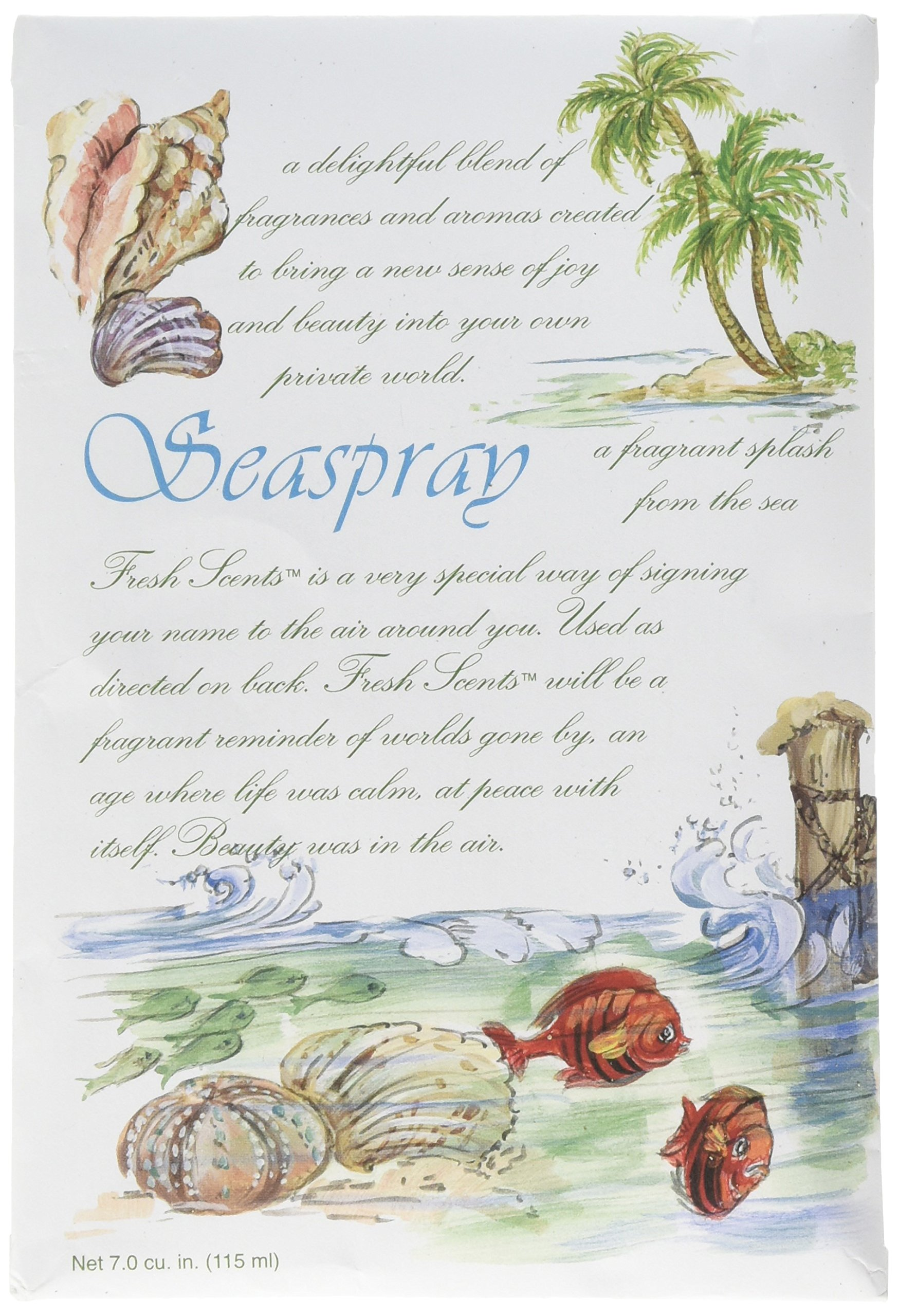 Willowbrook Original Scented Sachets, Pack of 3 (Seaspray)