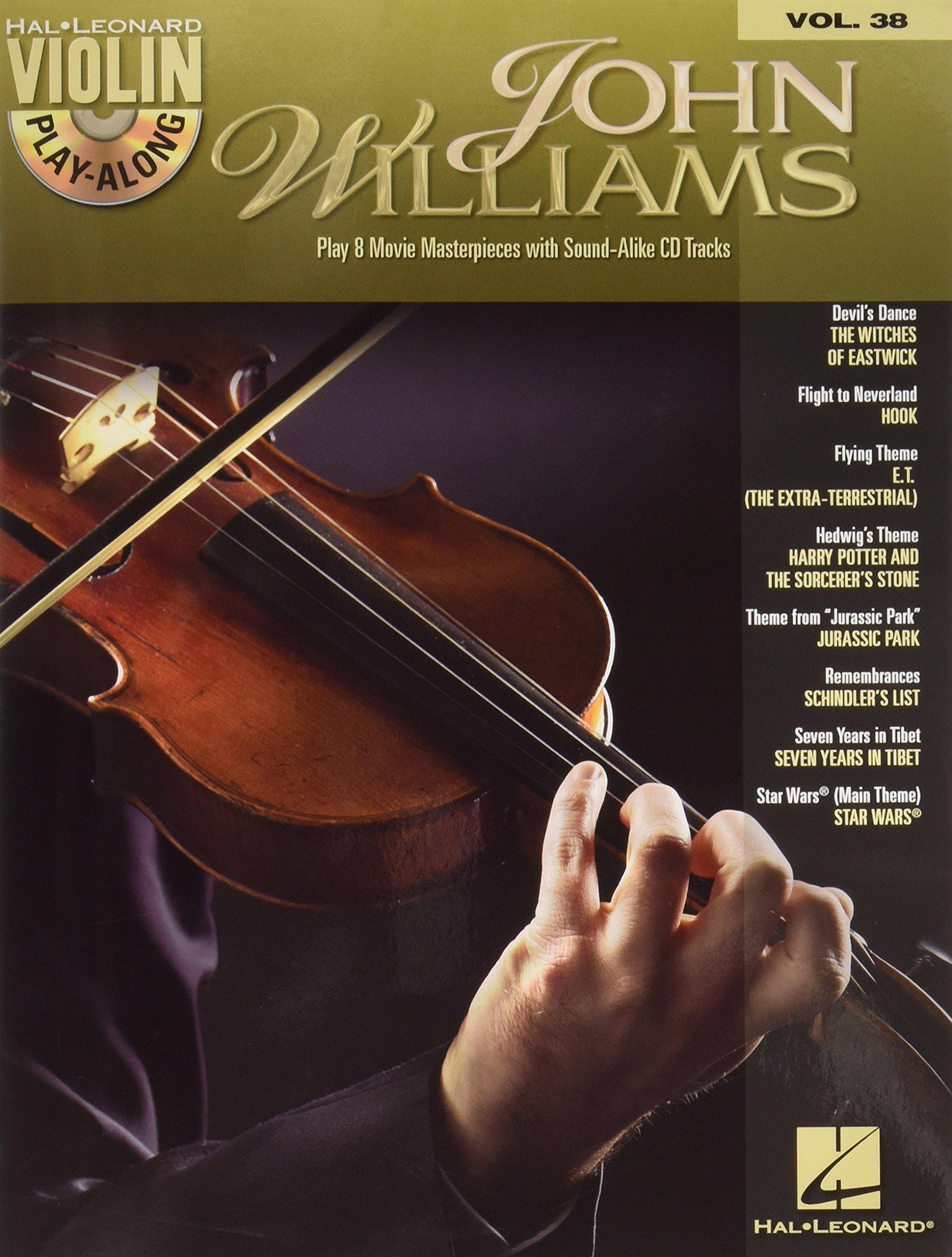 Hal Leonard John Williams Violin Play-Along Volume 38 (Book/CD)