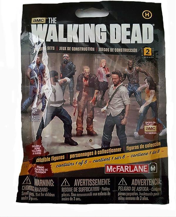 """MCFARLANE WALKING DEAD BLIND BAG SERIES 1 FIGURE HERD WALKER MALE 2/"""""""