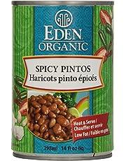 Eden Foods Organic Spicy Pinto Beans, 398 ml