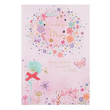 Geburtstagskarte Schreiben Mama.Hallmark Geburtstagskarte Fur Mama Lots Of Love