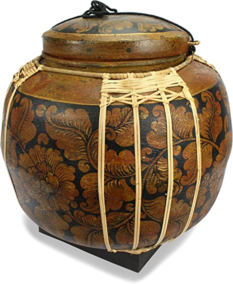 Caja de Semillas de arroz – Muy Grande esférica Caja, 53 cm de Alto, cm1703: Amazon.es: Hogar