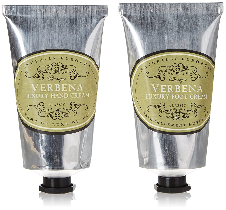 Naturalmente Verbena e crema piedi 75ml Luxury Gift Set Offerte europeo 2 x The Somerset Toiletry Company 92610