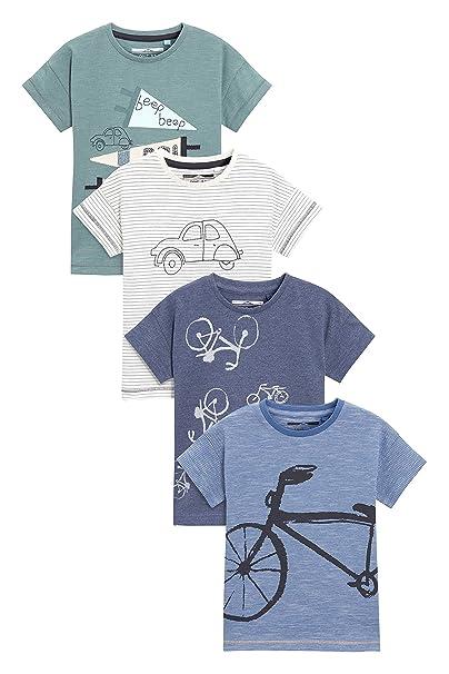 E Confezione Bambini Corte Ragazzi Shirt Da Quattro Next Maniche T A 6bYIfgvy7