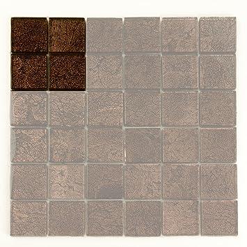Gold Effekt Glas Mosaik Fliesen Glanzend Fertig Mosaik Fliesen
