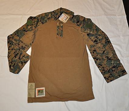 1267ca5a98d0 Image Unavailable. Image not available for. Color  USMC Woodland MARPAT  Defender FR Combat Ensemble Shirt ...