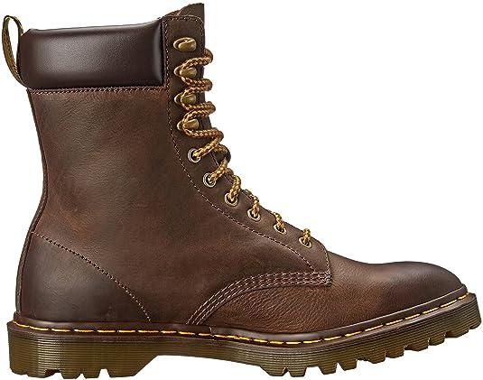 Dr. Martens padten Dark Brown Burn 16770201, Botines Hombre, (marrón), 46: Amazon.es: Zapatos y complementos
