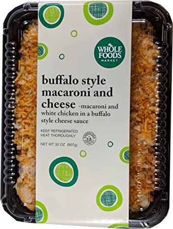 Whole Foods Market Buffalo Style Macaroni And Cheese With Chicken