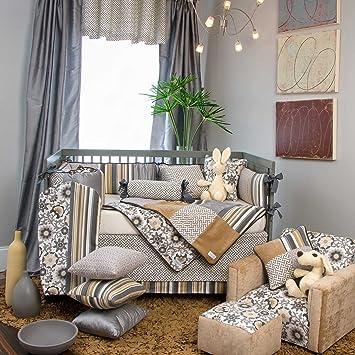 glenna jean grayson 4 piece crib bedding set