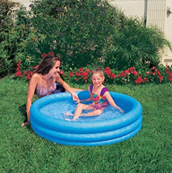 Intex 59416NP - Piscina (Piscina Hinchable, Círculo, Azul, Child ...