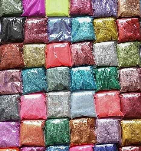 METALLIC,IRIDESCENT 25g BAGS OF FINE GLITTER FOR CRAFTS,FLORISTRY,NAIL ART