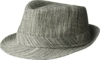 Henschel Men's Cotton/Linen Blend Fedora
