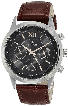 13b45fc7813 Buy Titan Neo Analog Black Dial Men s Watch - 1766SL02 Online at Low ...