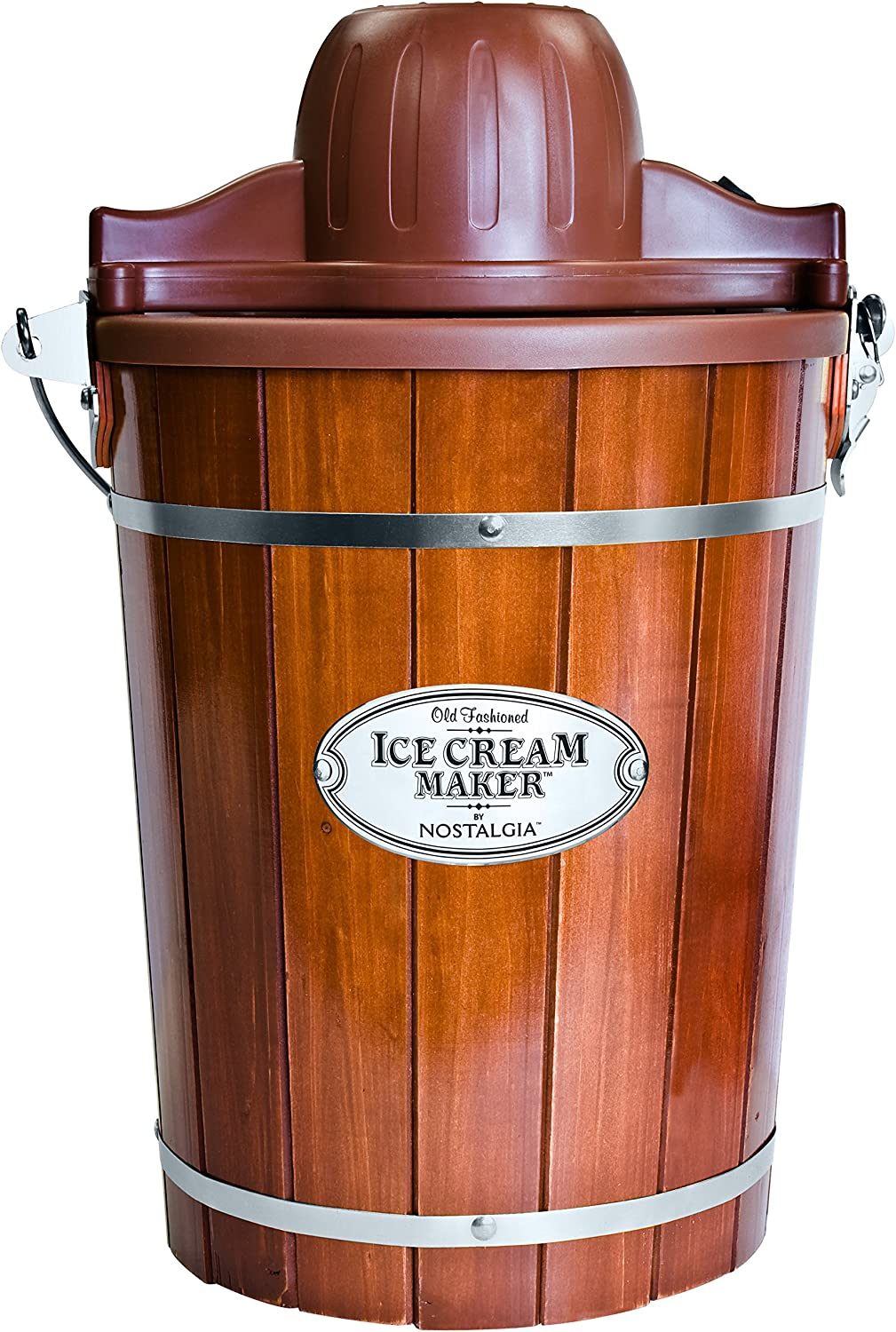Nostalgia Electric Bucket Ice Cream Maker